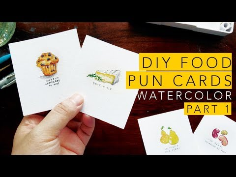 Easy Diy Valentines Day Cards Food Puns Part 1 Youtube