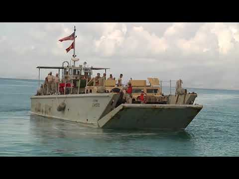 Military Police Travel to Vieques