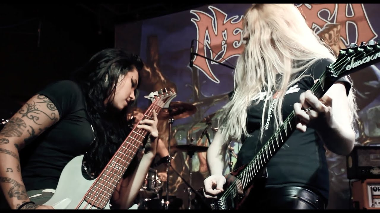 NERVOSA — Into Moshpit | Napalm Records
