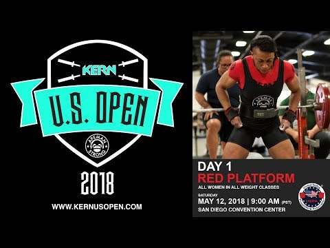 The Kern US Open USPA Powerlifting Competition | Day 1 - Red Platform