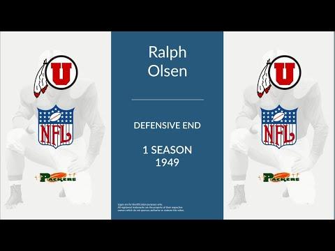 Ralph Olsen: Football Defensive End