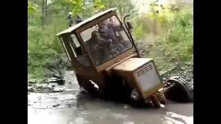 Трактора видео приколы новые свежие приколы смотреть всем!!!!!!!!!!!!!!!!!