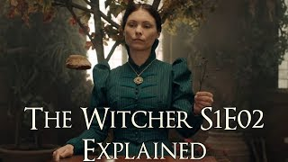 The Witcher S1E02 Explained (The Witcher Netflix Series, Four Marks Explained)