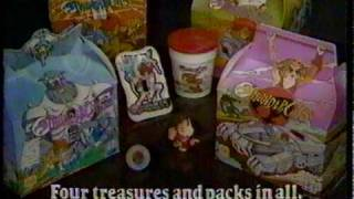 Thundercats Burger King Kid's Meal Pack commercial CM 1985 - CollectionDX