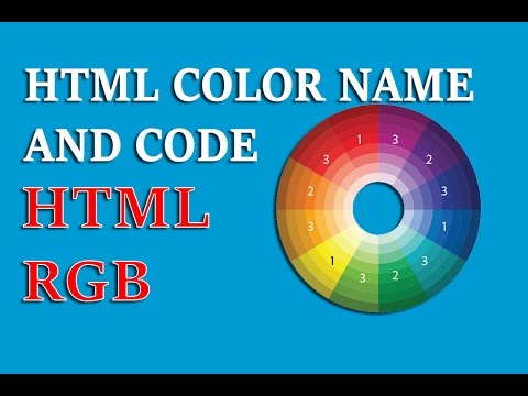 HTML Color Name And Code