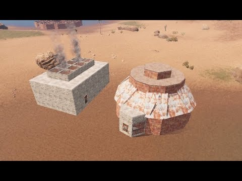 Rust A small group base Design very strong base [using+40rocket's]