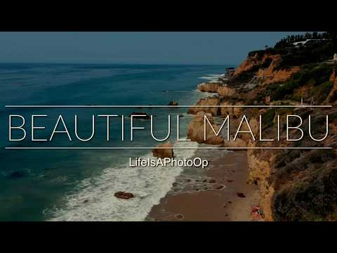 Malibu Beach by Drone