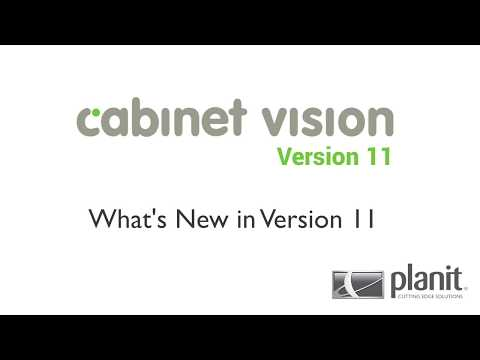What's New in Cabinet Vision Version 11