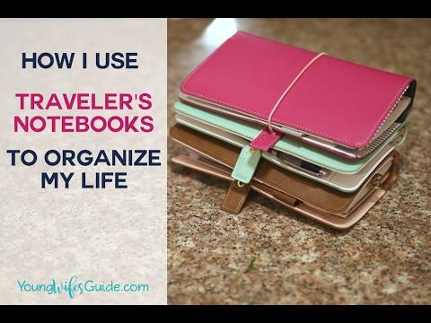 How I Use Traveler's Notebooks to Organize My Life - YWGtv Episode 9