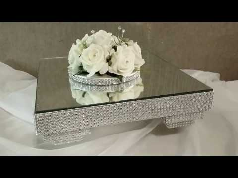 Diamante Tiered Leg Cake Stand
