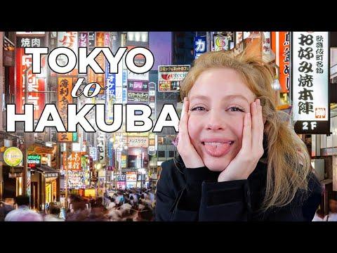 TOKYO to HAKUBA! JAPAN SOLO-FEMALE TRAVEL GUIDE 2020