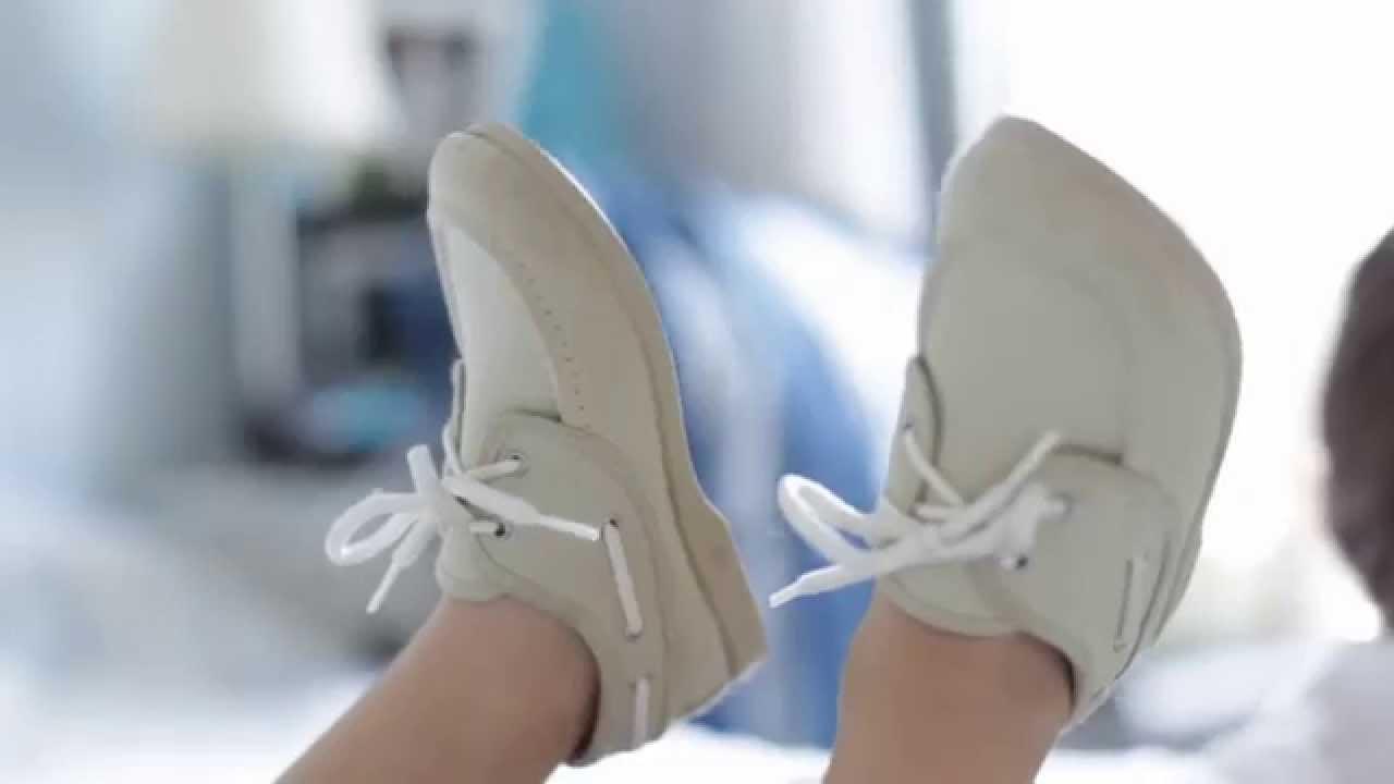 Mocasines Nuticos de Tela  Lonas para Nios Zapatos Online Pisamonas  YouTube