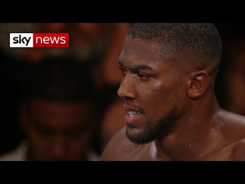 Anthony Joshua shocked by Andy Ruiz Jr in New York