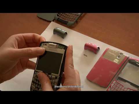 Montage behuizing BlackBerry Curve 8300