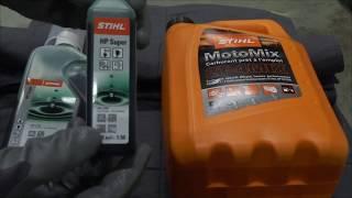 comment faire du mélange pour moteur 2 temps. tronçonneuse, débroussailleuse, souffleur, etc..