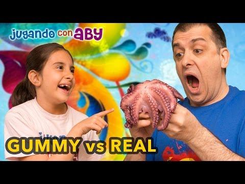 GUMMY vs REAL Food Challenge #2. LA REVANCHA.
