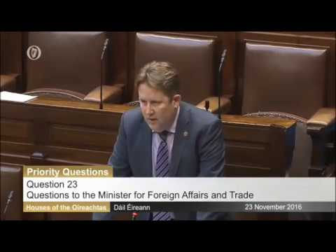 Brexit - Question's to the Minister for Foreign Affairs