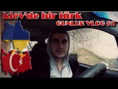 Ukrayna Kiev'de Bir Türk - Günlük Vlog #2