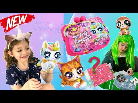The Green Reporter opens new BFF Toys Live! But did Ashlee open them first? Ep.3   Handbag Surprize
