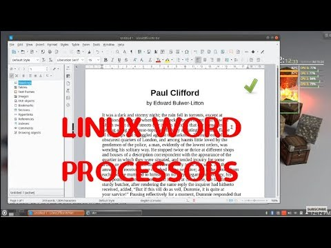 Cooking With Linux: Lots and Lots of Word Processors! The Tuesday Linux Journal Show: