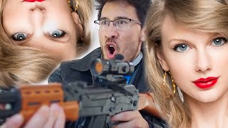 Taylor Swift - Bad Blood WITH GUNS ft. Markiplier & Matthias [un-Official]