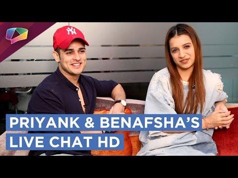 Priyank Sharma And Benafsha Soonawala Get Candid With India Forums | Chats, Games & More | HD