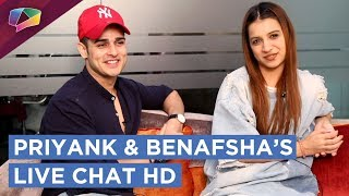 Priyank Sharma And Benafsha Soonawala Get Candid With India Forums | Chats, Games & More | HD thumbnail