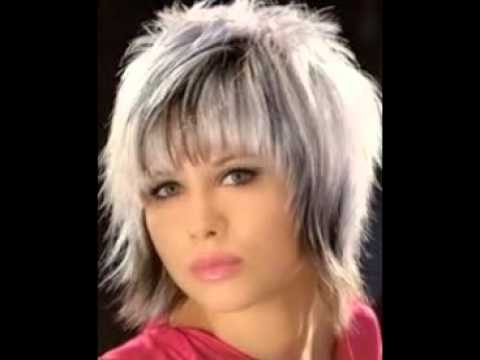 Short Shag Hairstyles - YouTube