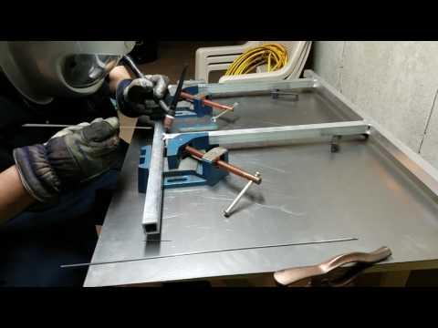 Tig welding aluminum table legs