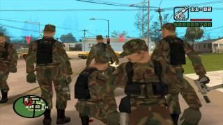 vuclip GTA san andreas - DYOM mission # 32 - Civil war ( HD )