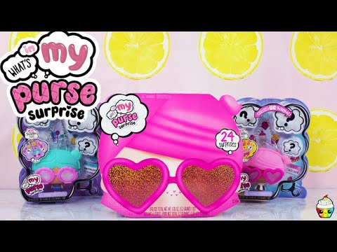 What's In My Purse Surprise Advent Calendar + What's In My Purse Surprise PURSE DOLLS Full Set