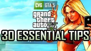 GTA 5 - 30 Essential GTA V Tips