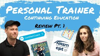 Personal Trainer Education Review Vol. 1 | Precision Nutrition Level 1 Review | Nasm CPT Review