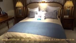 """Видео обзор: Классическая кровать """"Лоренс А"""", массив дерева"""