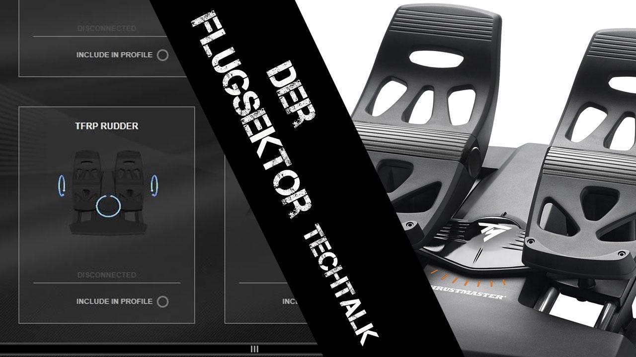 Thrustmaster TFlight Rudder Pedals (TFRP)#1 [deutsch]