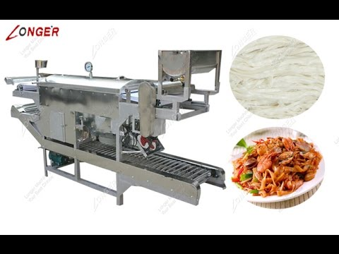 Flat Rice Noodle Machine Packaging & Shipping to Indonesia