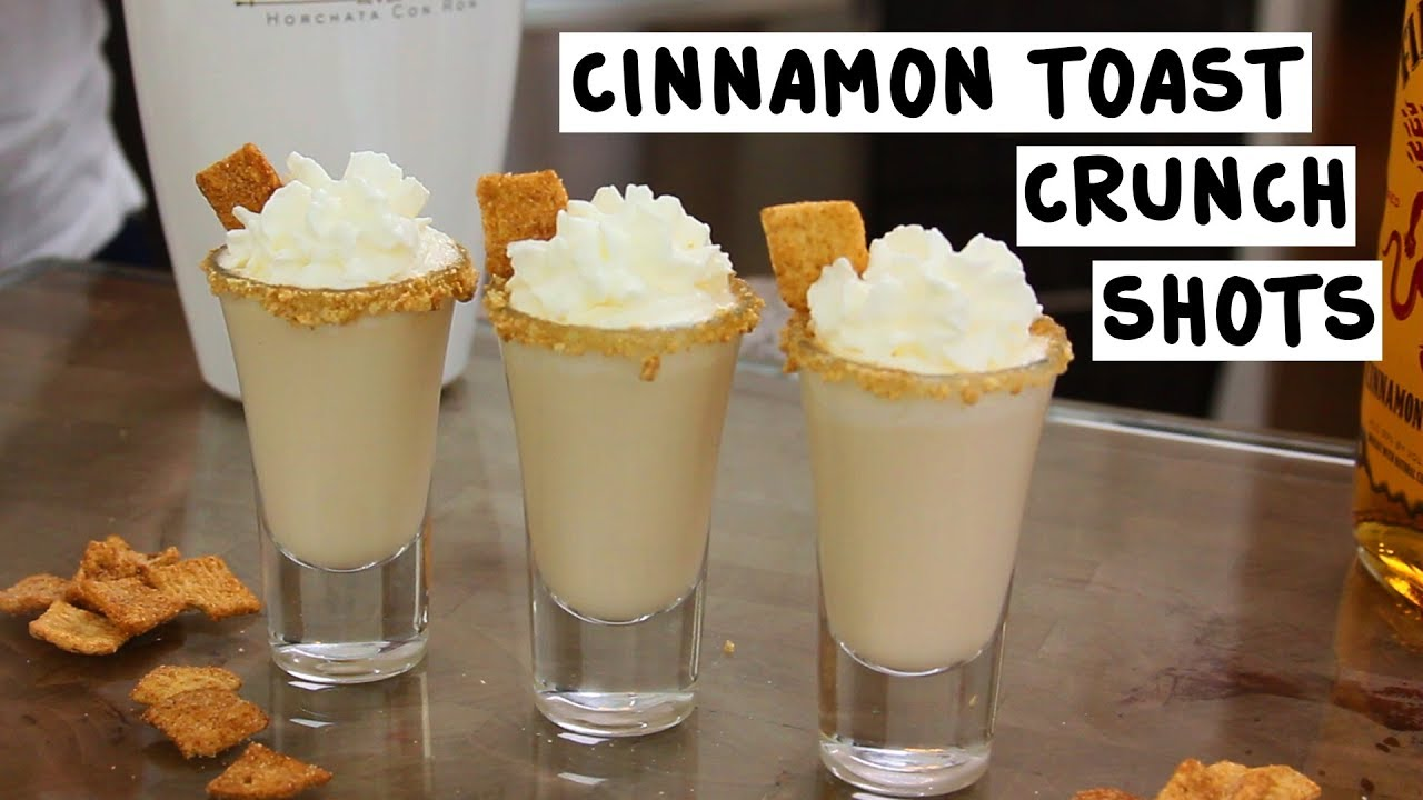 Cinnamon Toast Crunch Shots Tipsy Bartender