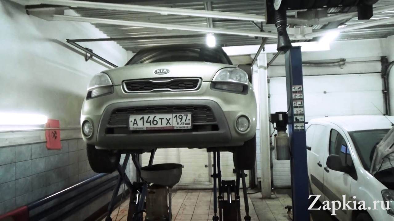 Kia Soul: Engine Oil Replacement