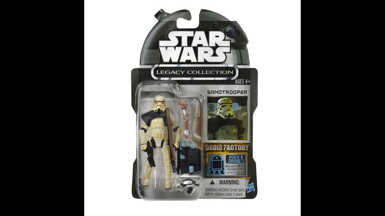 Star Wars Droids Toys : Star wars legacy collection droid factory sandtrooper hd