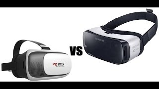 Samsung Gear VR vs VR Box