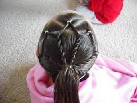 Como hacer peinados de fiesta para ni as ideas faciles y - Peinados bonitos para ninas ...