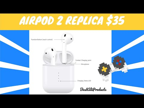 i10 TWS Airpods @ Aliexpress | Cheap Fake Airpods