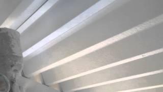 ケツロナイン 折板屋根裏 小牧市の塗り替えならレインボーペイント