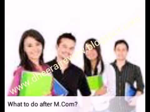 Career Options after M.Com