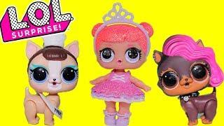 ЛОЛ ПИТОМЦЫ Конкурс на СЮРПРИЗЫ ЛОЛ 3 СЕРИИ завершен!Видео для детей про Куклы лол сюрприз мультик