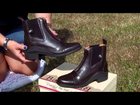 Opening my Bareback Equestrian Idaho Jodhpur boots box in Brown