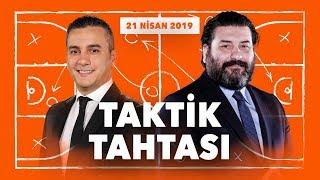 Taktik Tahtası | 21 Nisan | Fenerbahçe-Zalgiris, Anadolu Efes-Barcelona Playoff Analizleri