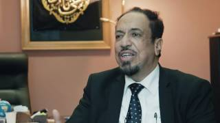 Entretien avec le president de la grande mosquée de Bruxelles, Jamal Saleh Momenah.