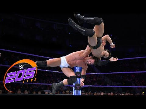 Roderick Strong vs. Hideo Itami: WWE 205 Live, Feb. 6. 2018
