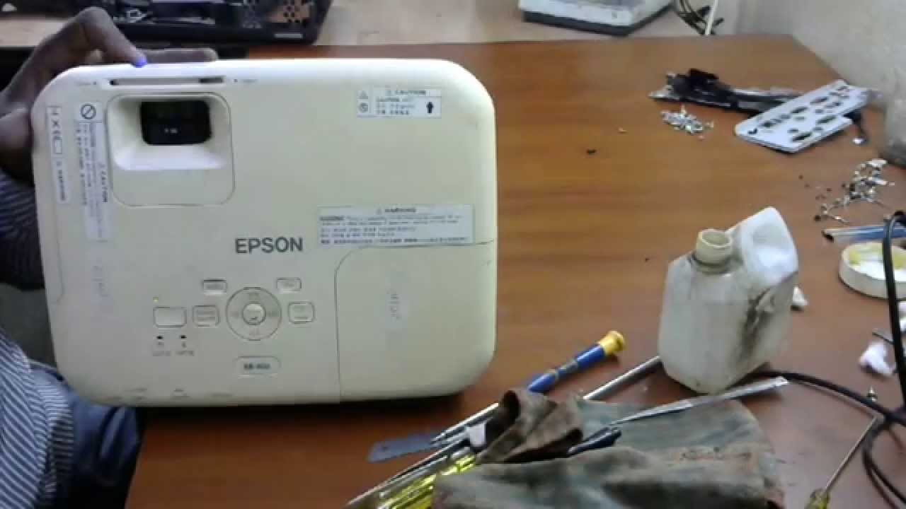 Epson Eb X02 How To Lamp Hours Reset Youtube S300 Projector